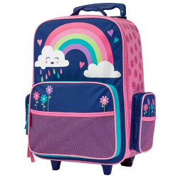 Stephen Joseph Classic Rolling Backpack  Rainbow 45 cm