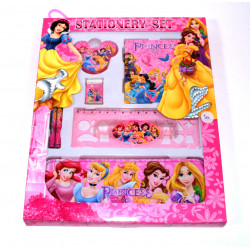 Disney Princesses Stationery Set Different Style, 7 pieces