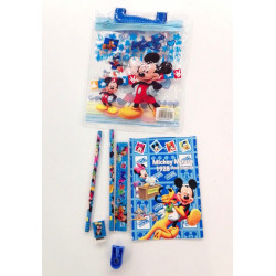 Mickey Mouse Stationery Set, 7 pieces