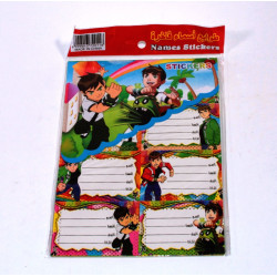 Ben 10 Stickers, Small Size, 80 pieces