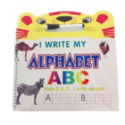 I Write my Alphabet Notebook wih Pen, Animals