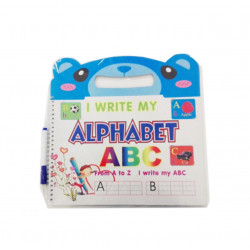 I Write my Alphabet Notebook wih Pen