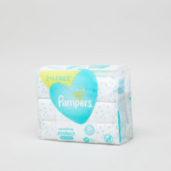 Pampers Sensitive Baby Wipes 3 Pack - 168 Pieces