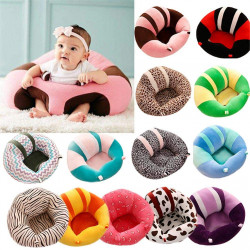 Baby Support Seat Plush Soft Baby Couch, Small Size, Assorted Models