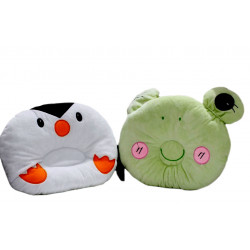 Baby Head Shaping Pillow, Elephant or Penguin