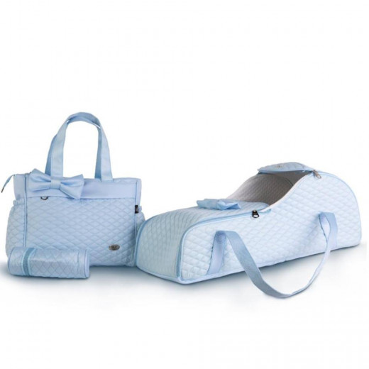 M&Y Newborn Baby Set, 3 pieces, Baby Blue