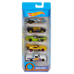 Hot Wheels® 50th Track Stars 5-Pack - Assortment