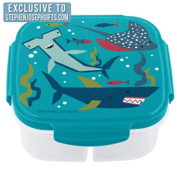 Stephen Joseph Container With Ice-Pack Shark