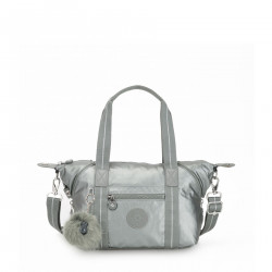 Kipling Art Mini Metallic Stony