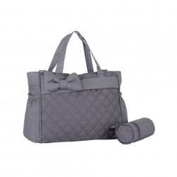 M&Y Fiyonk Premium Quality Baby Diaper Nappy Changing Bag, Grey