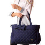 M&Y Fiyonk Premium Quality Baby Diaper Nappy Changing Bag, Navy Blue