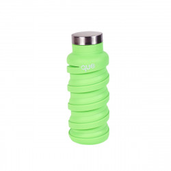 Que Collapsible Water Bottle, Key Lime Green, 590 ml