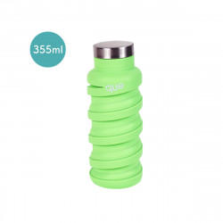 Que Collapsible Water Bottle, Key Lime Green, 355 ml