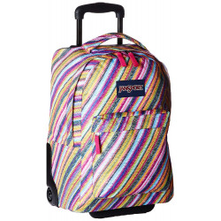 Jansport Wheeled Superbreak Diamond Plumeria Color