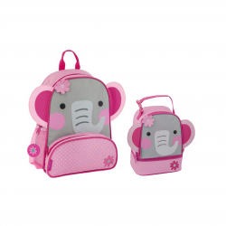 Stephen Joseph Sidekicks Backpack And Lunch Pals Elephant