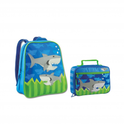 Stephen Joseph Sidekicks Backpack And Lunch Box Shark