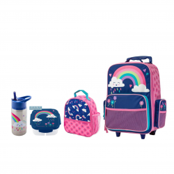 Stephen Joseph Sidekicks Backpack, Lunch Box, Container And Water Bottle