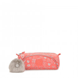Kipling  Cute Hearty Pink Met