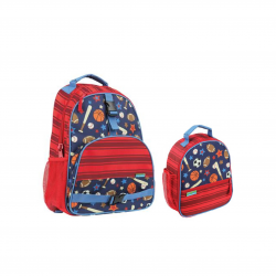 Stephen Joseph Sidekicks Backpack And Print Lunch Box Sports