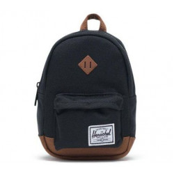 Herschel Heritage Mini Color: Blk/Sadle Brown