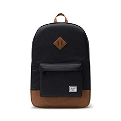 Herschel Heritage Youth XL Color: Blk/Sadle Brown