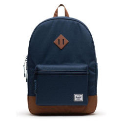 Herschel Heritage Youth XL Color: Nvy/Sadle Brown
