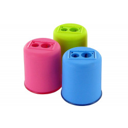 KUM Pod K2 Pop Pencil Sharpener - Two Holes