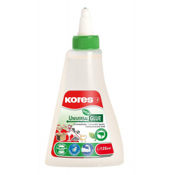 Kores Solvent Free Clear Glue - 125ml