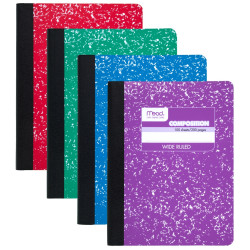 Mead Composition Notebook - Wide Ruled - 100 Sheets