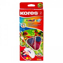 Kores Watercolors / Set of 12 Colors