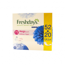 Freshdays Long 52+20 pieces