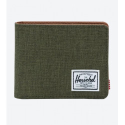 Herschel Hank RFID Color: Olngt Crosht/Ol