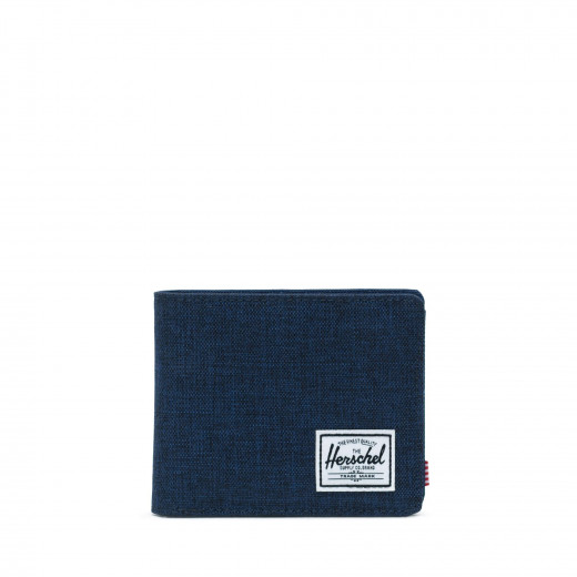 Herschel Hank RFID Color: Medvl Bl/Crosh