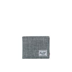 Herschel Roy + Coin RFID Color: Raven Crhtch