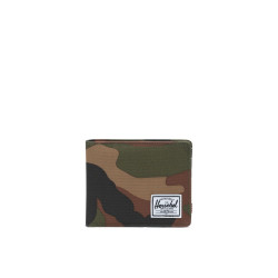 Herschel Roy + Coin RFID Color: Woodland Camo