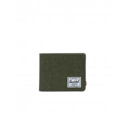Herschel Roy + Coin RFID Color: Olngt Crosht/Ol