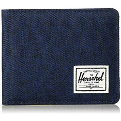 Herschel Roy + Coin RFID Color: Medvl Bl/Crosh