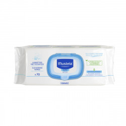 Mustela Cleansing Baby Wipes X70 pieces