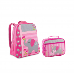 Stephen Joseph Sidekicks Backpack And Lunch Box Elephant
