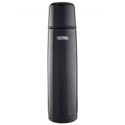 Thermos Light & Compact Beverage Bottle, 750 ml, Black