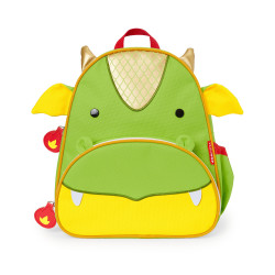 Skip Hop Zoo Little Kid Backpack, Dragon