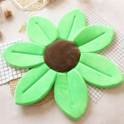 Baby Bath Pillow - Infant Tub Blooming Flower Cushion 80 cm, Green