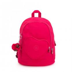 Kipling Heart BackPack True Pink