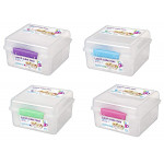 Sistema Lunch Cube To Go, Assorted Colours, 1.4 Litre
