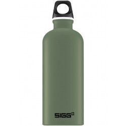 SIGG Water Bottle Traveller Leaf Green 0.6 L