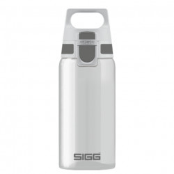 SIGG Water Bottle Total Clear ONE Anthracite 0.5 L