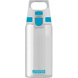SIGG Water Bottle Total Clear ONE Aqua 0.5 L