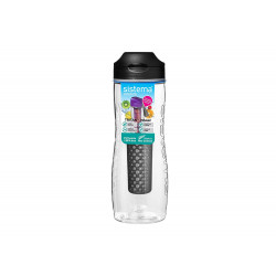 Sistema Hydrate Tritan Fruit Infuser Bottle 800 ml, Black