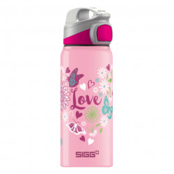 SIGG Kids Water Bottle Miracle Alu Love 0.6 L