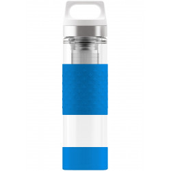 SIGG Thermo Flask Hot & Cold Glass Electric Blue Bottle 0.4 L